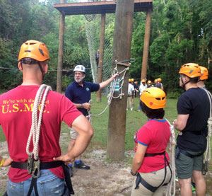 Challenge Course facilitator