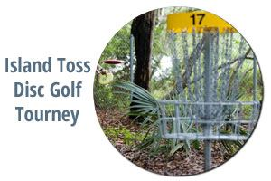 Island-toss Disc-Golf