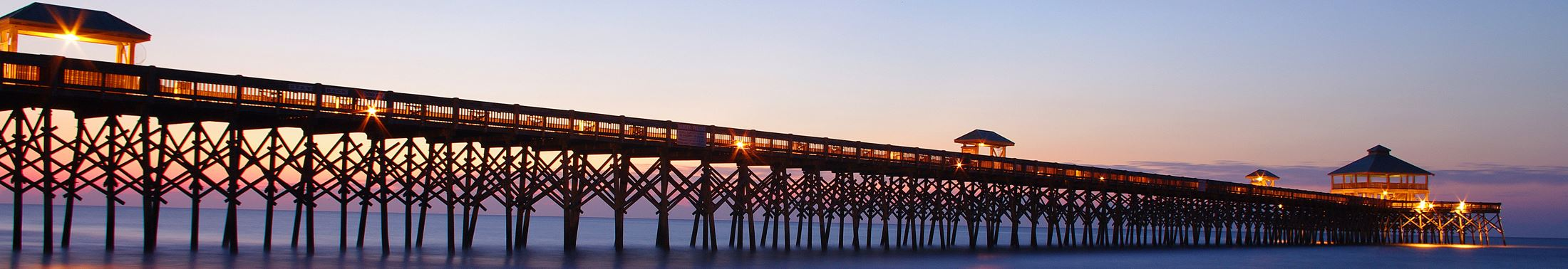 View of the Folly Beach Fishing Pier