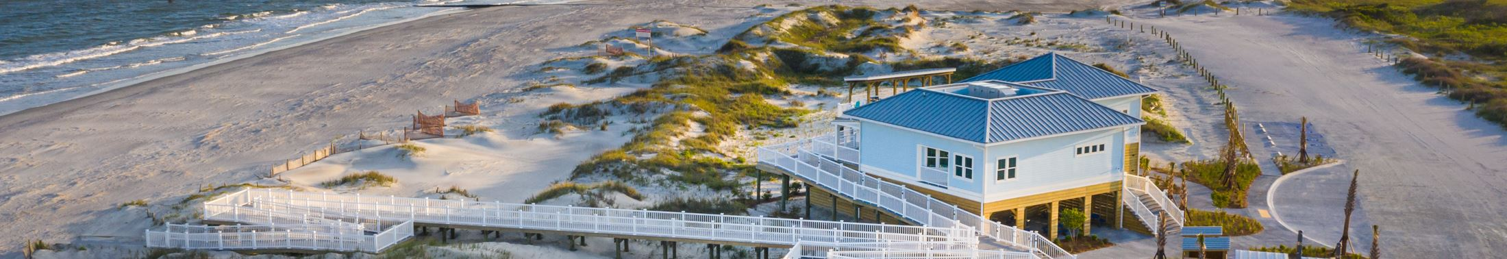 The Dunes House at the Folly Beach County Park