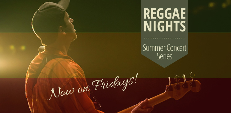 Reggae Nights Summer Concert Series Logo