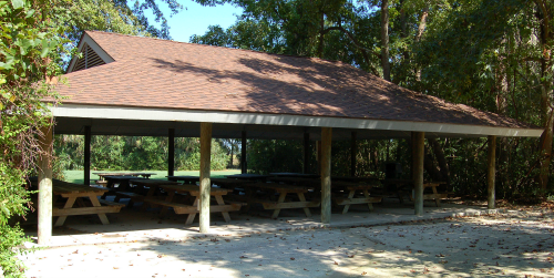 Sweet Gum Shelter at Palmetto Islands County Park