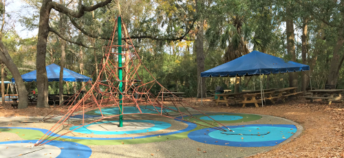 Azalea and Honeysuckle Tents at Palmetto Islands County Park