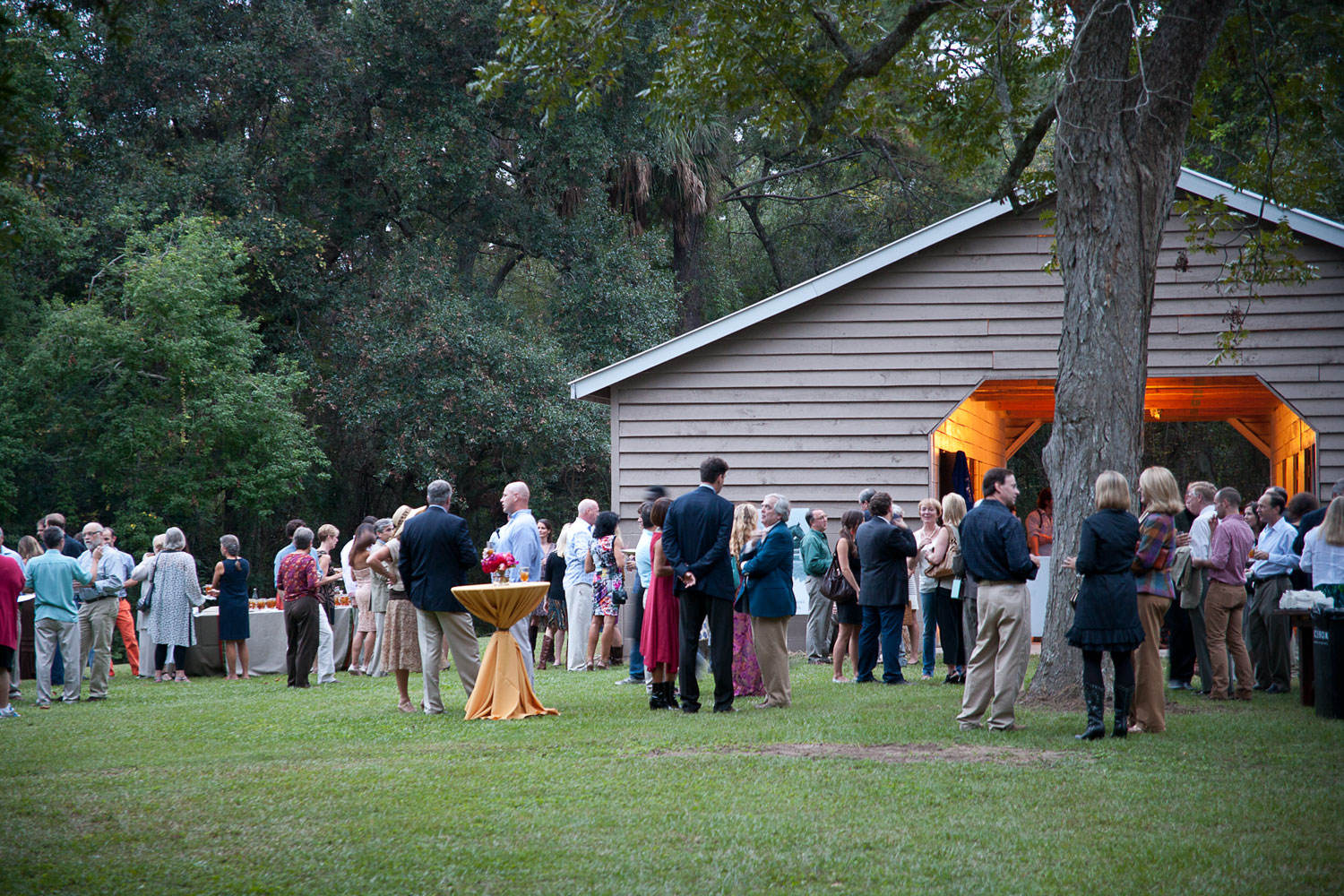 Located in the heart of West Ashley, Old Towne Creek County Park is ideal for weddings, corporate picnics, oyster roasts, or any occasion where a convenient and secluded location is needed. The property features large open meadows, marsh views, gorgeous b