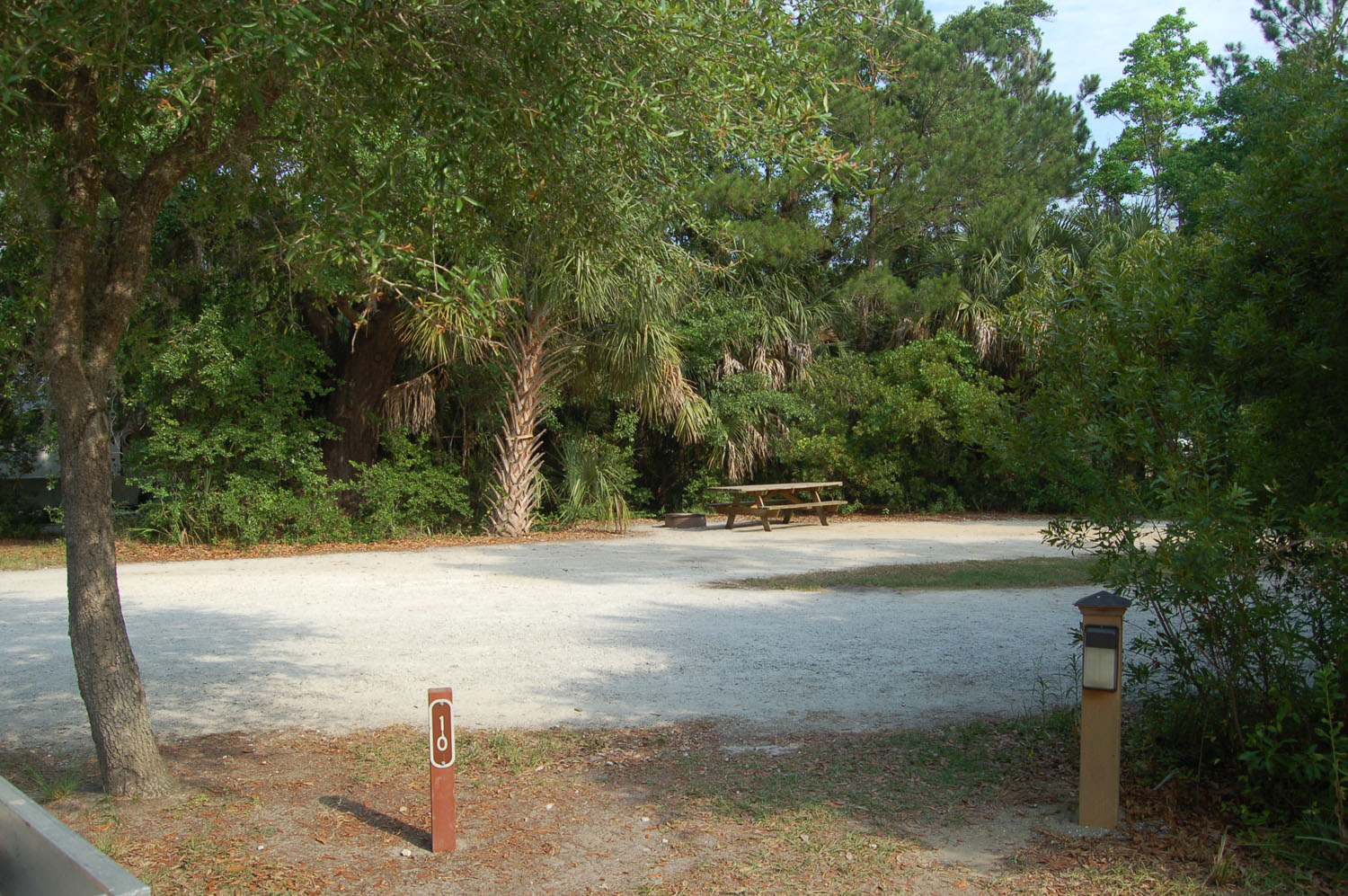 Image of campsite #10 at James Island County Park