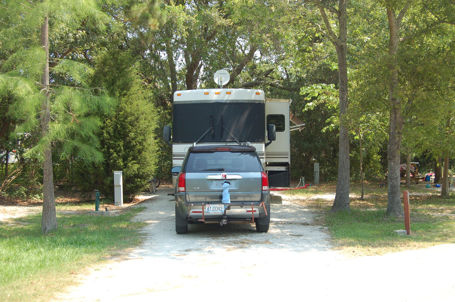 Image of Site #106 at the Campground at James Island County Park