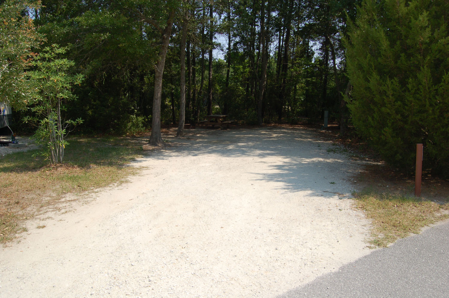 Image of Site # 112 at the Campground at James Island County Park