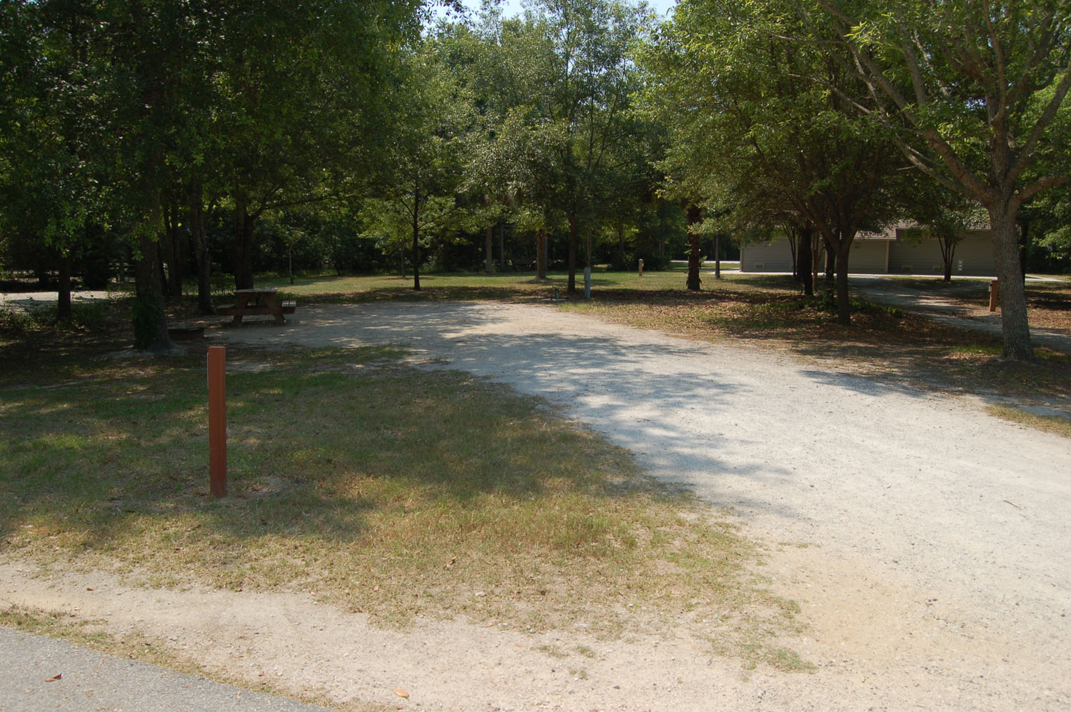 Image of Site #113 at the Campground at James Island County Park