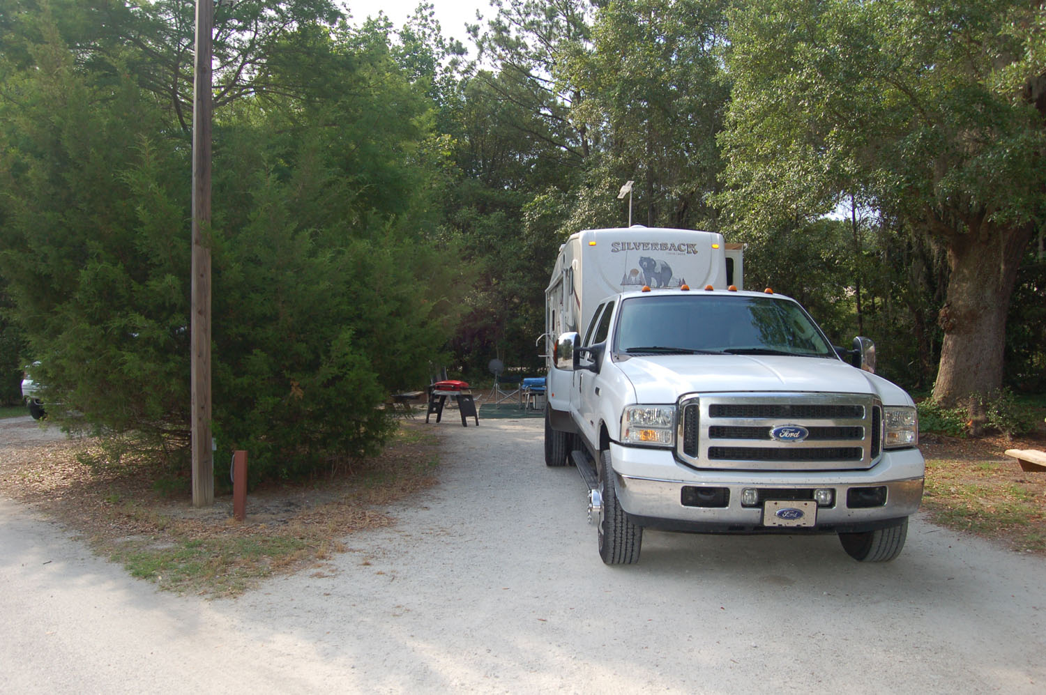 Image of campsite #12 at James Island County Park