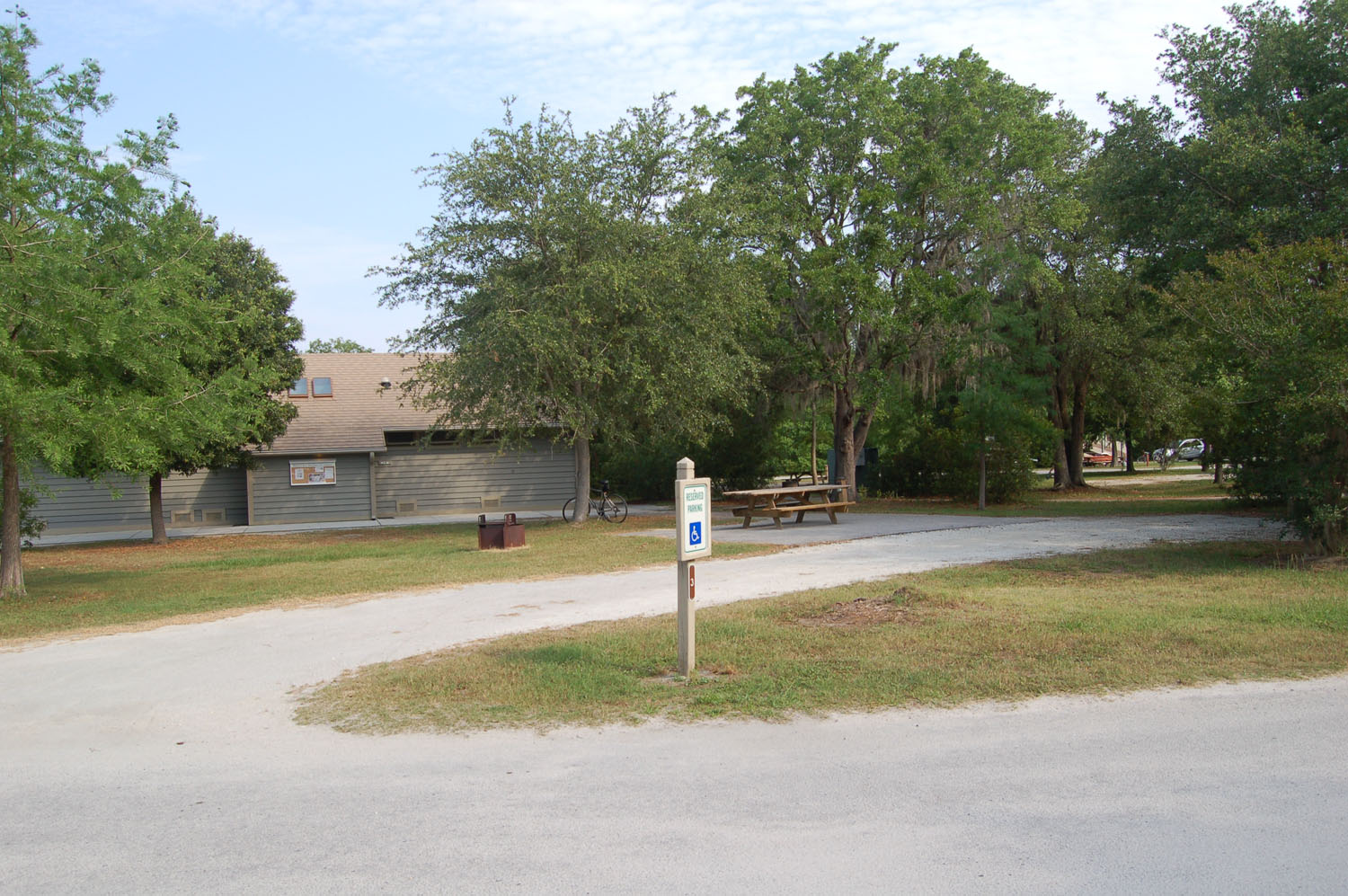 Image of campsite #3 at James Island County Park