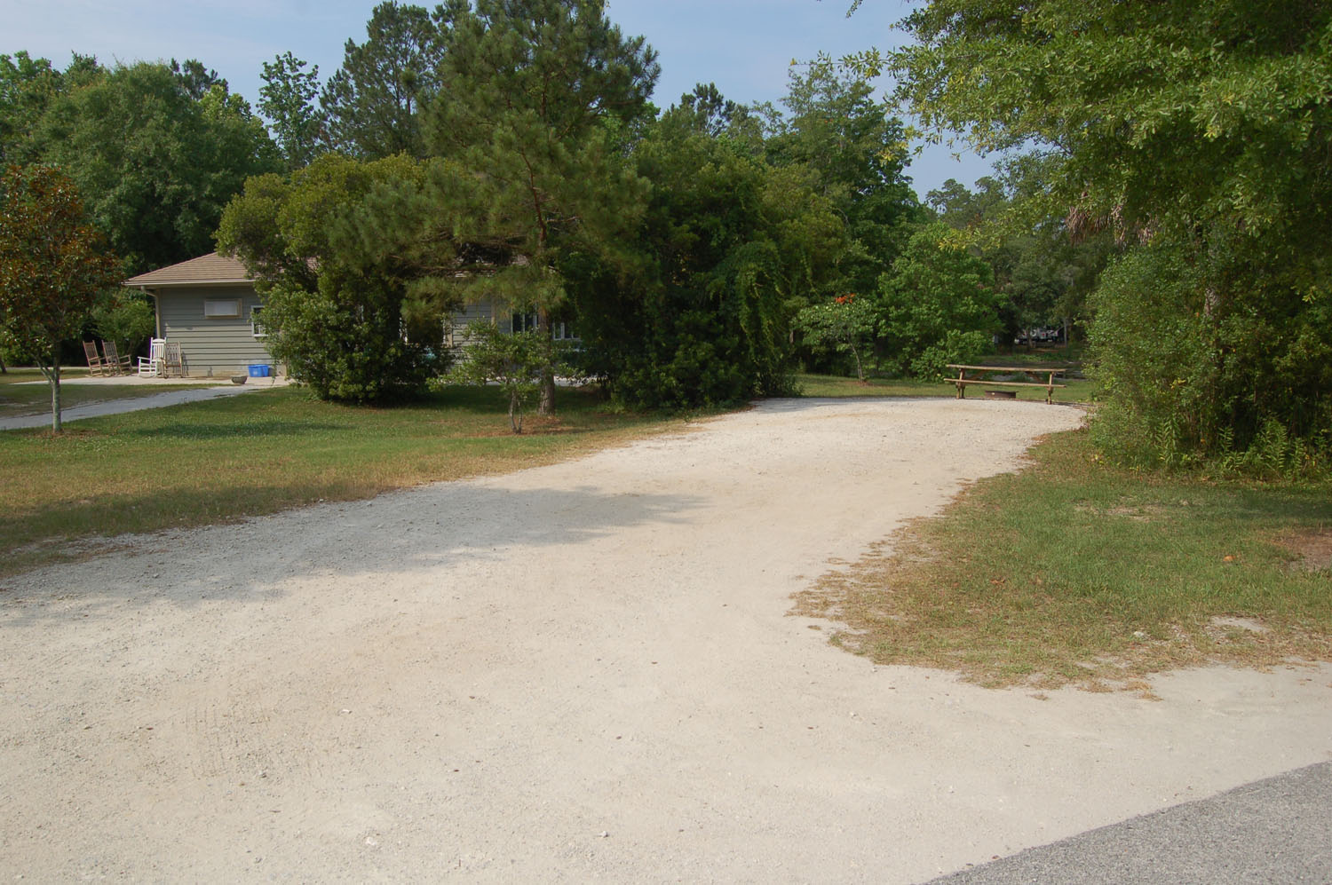 Image of campsite #38 at the Campground at James Island County Park