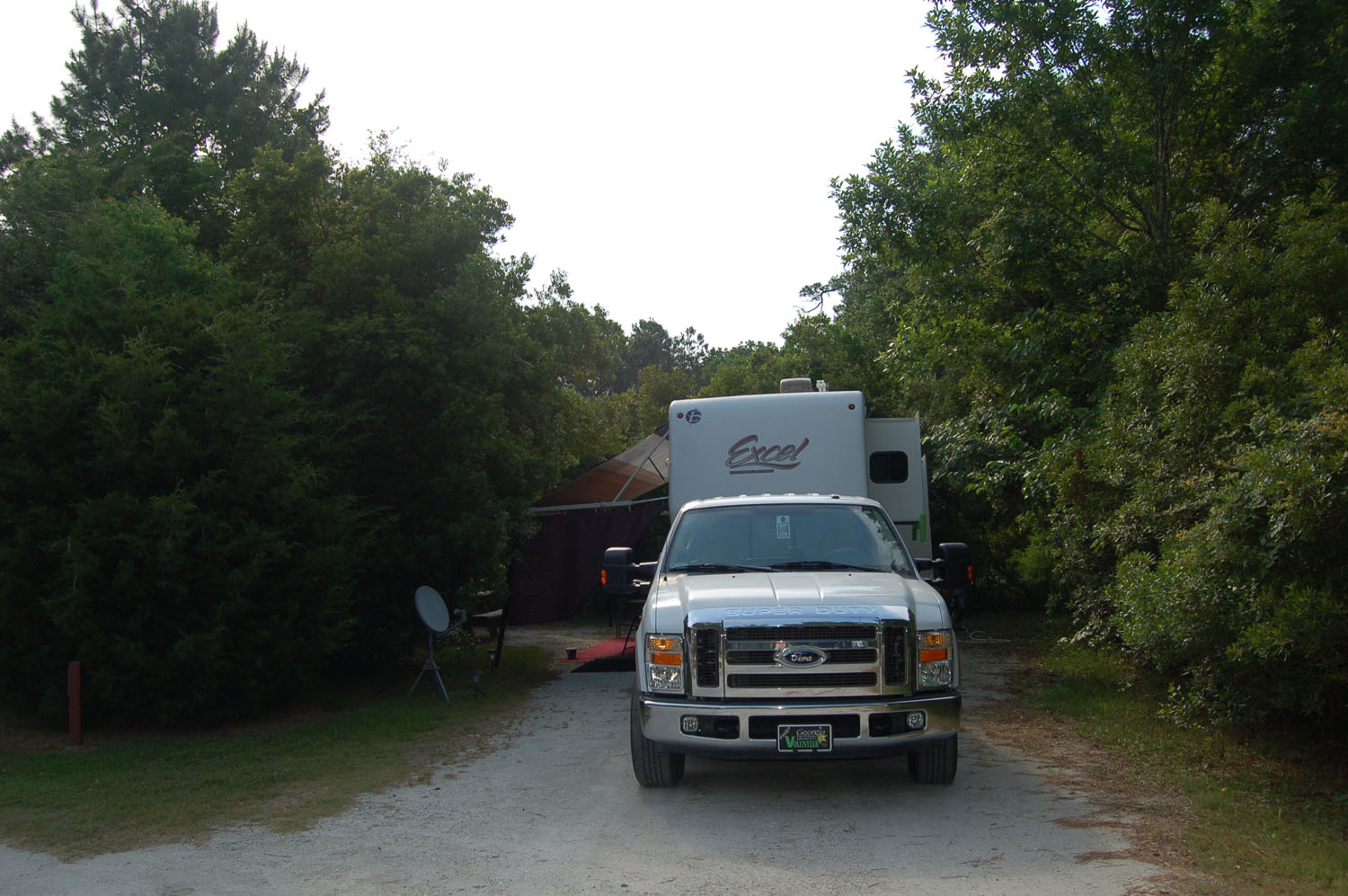 Image of campsite #4 at James Island County Park