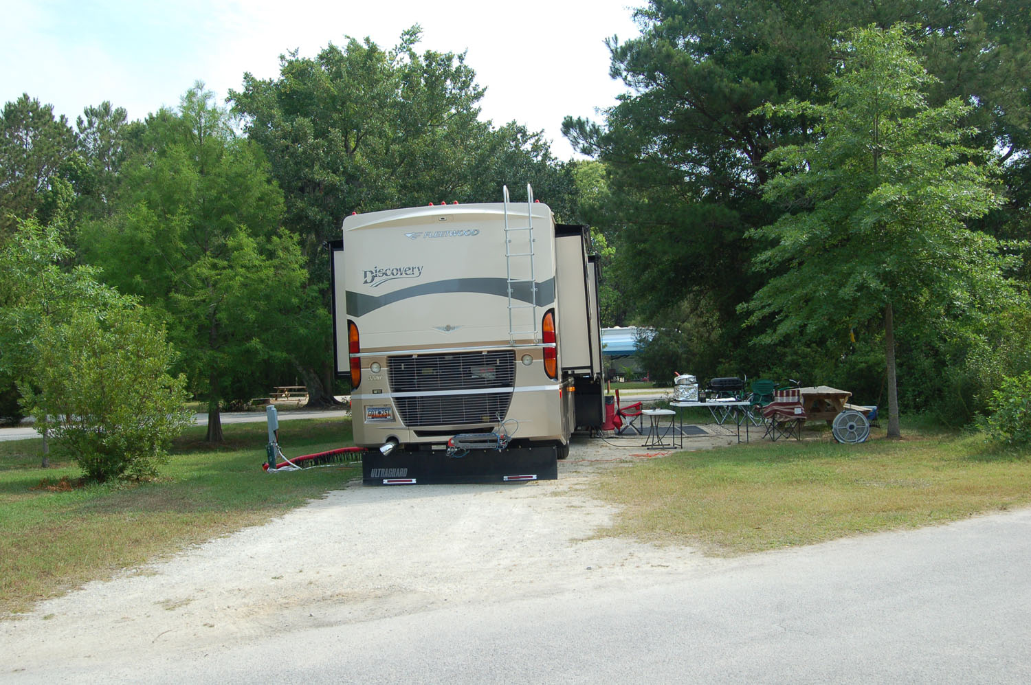 Image of campsite #41 at the Campground at James Island County Park