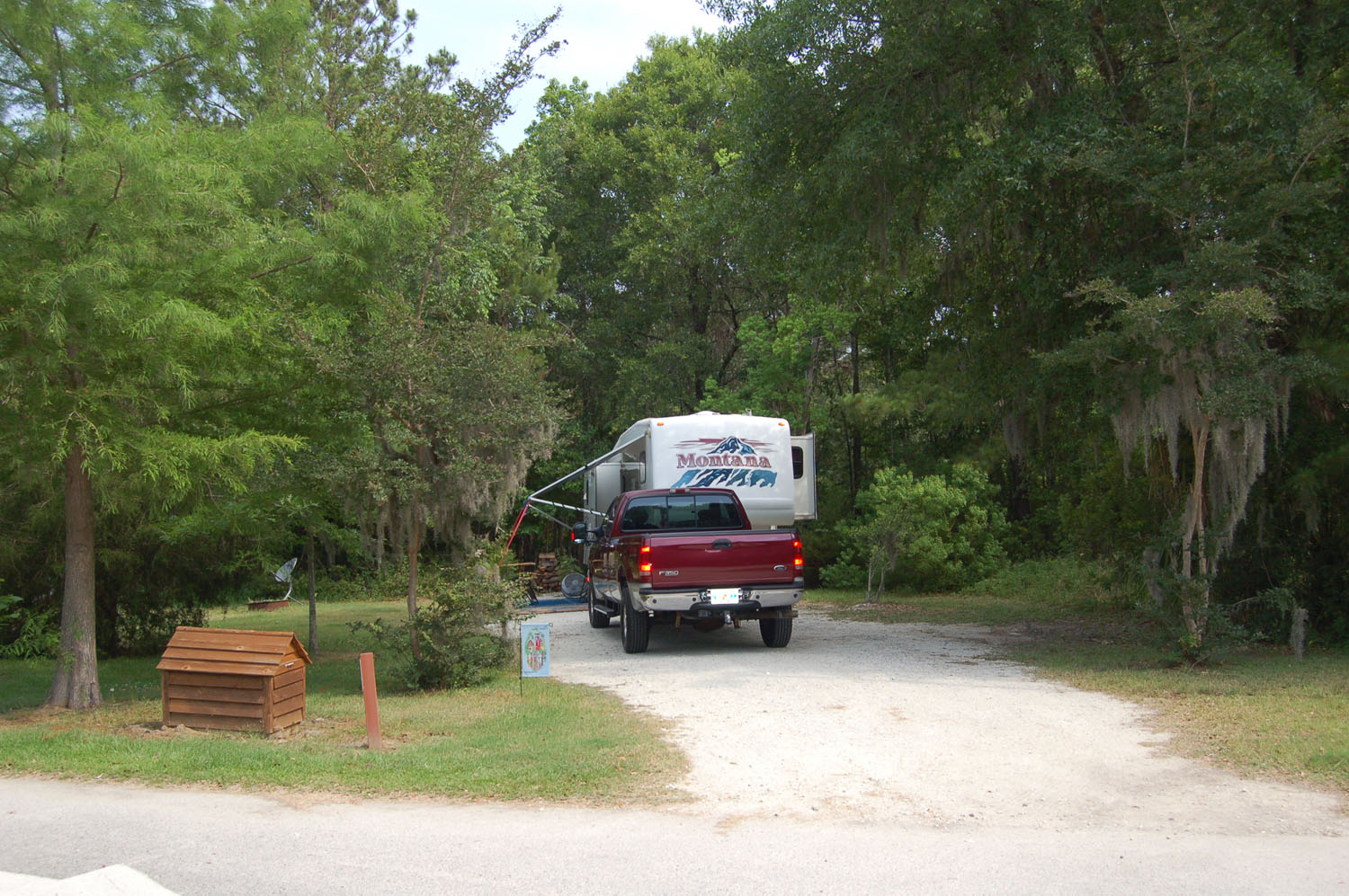 Image of campsite #55   at the Campground at James Island County Park