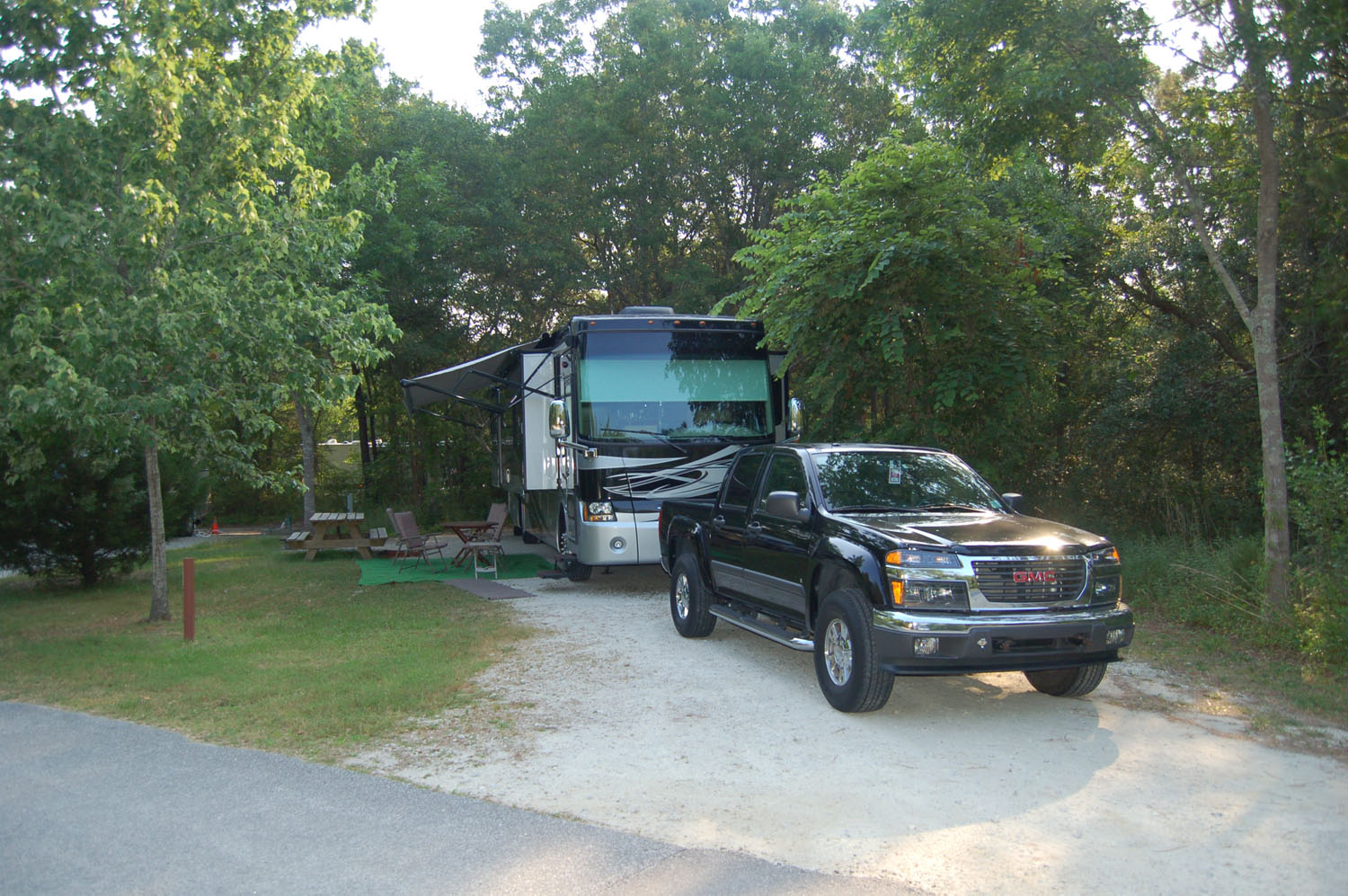 Image of campsite #59 at the Campground at James Island County Park