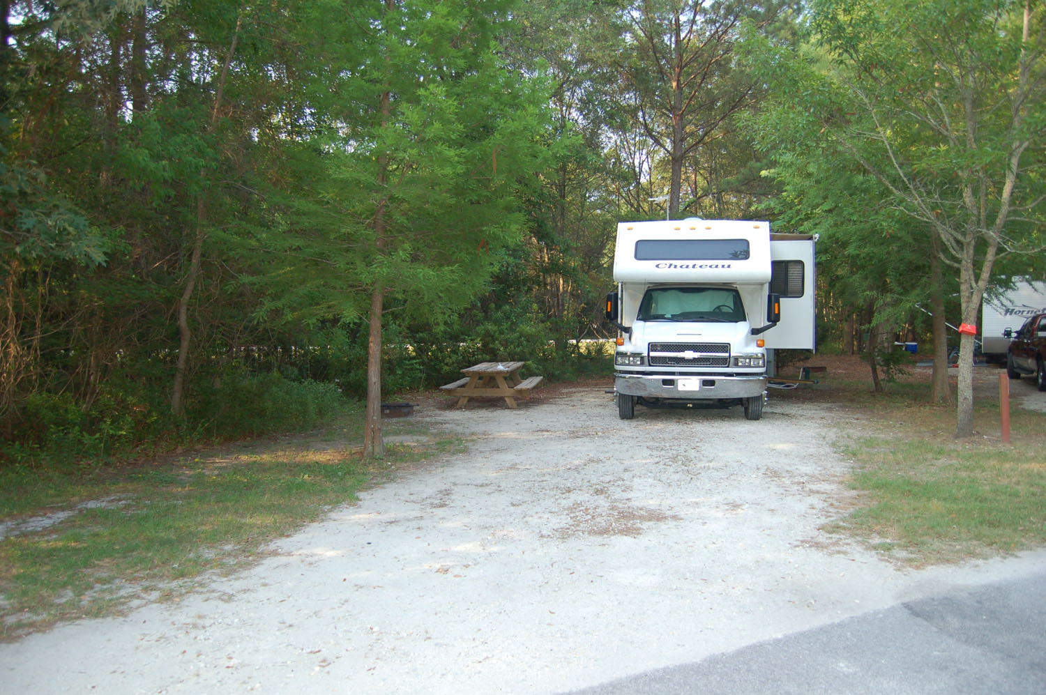 Image of campsite #65 at the Campground at James Island County Park