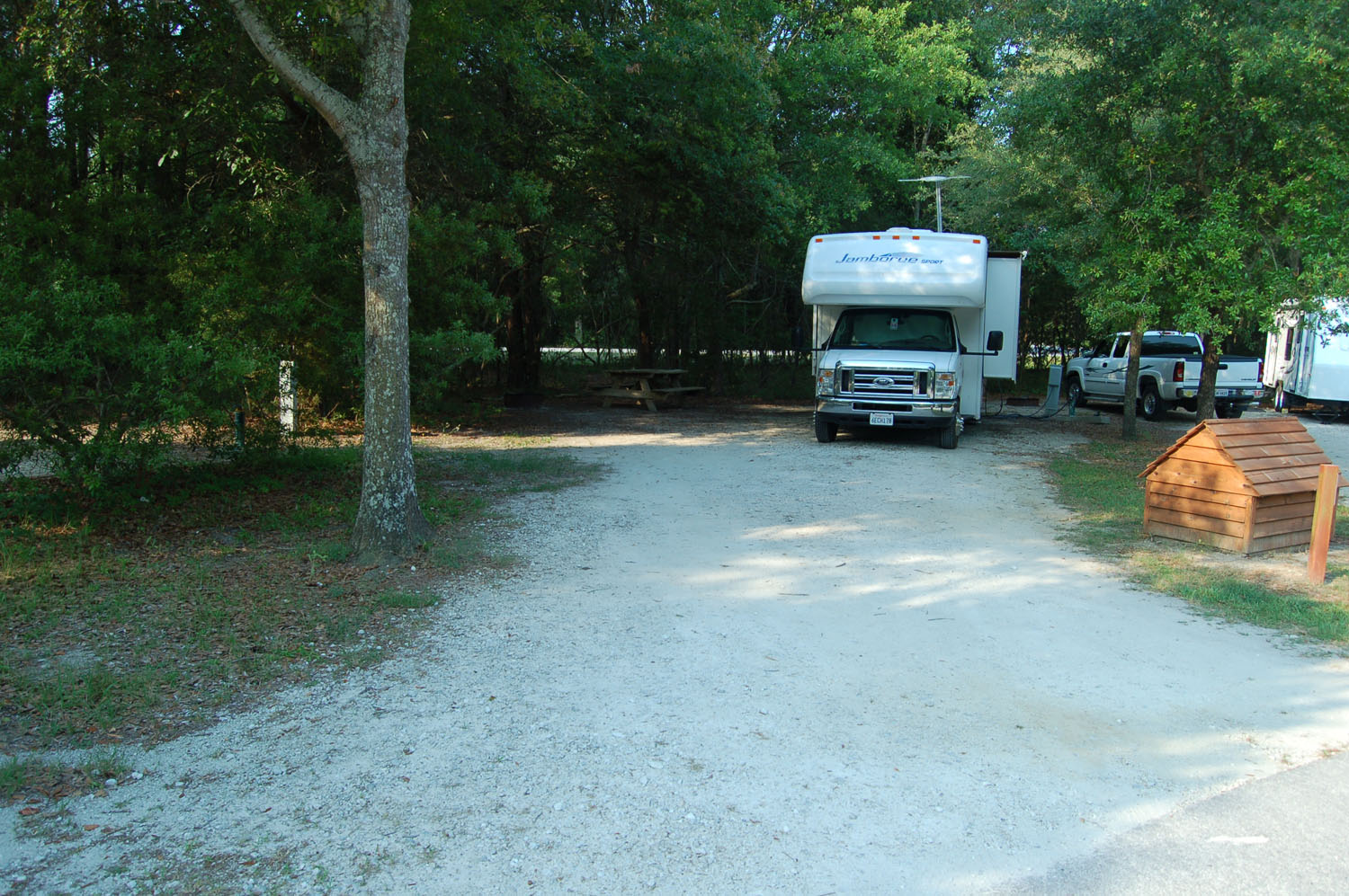 Image of campsite #69 at the Campground at James Island County Park