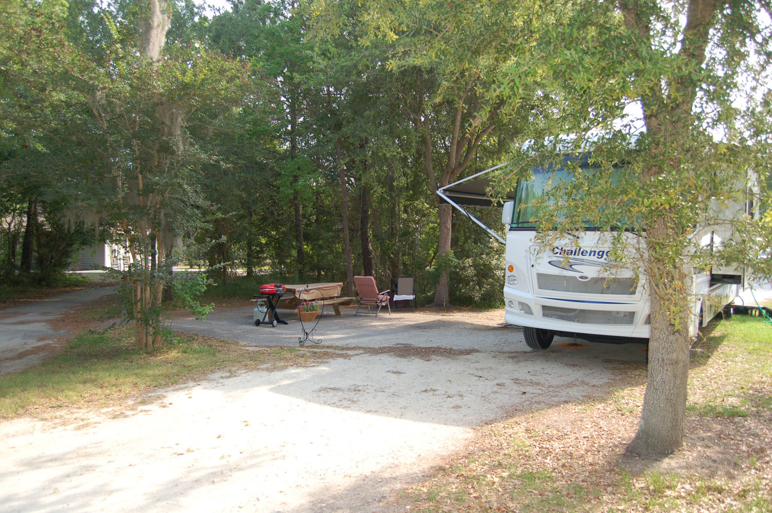 Image of campsite #7 at James Island County Park