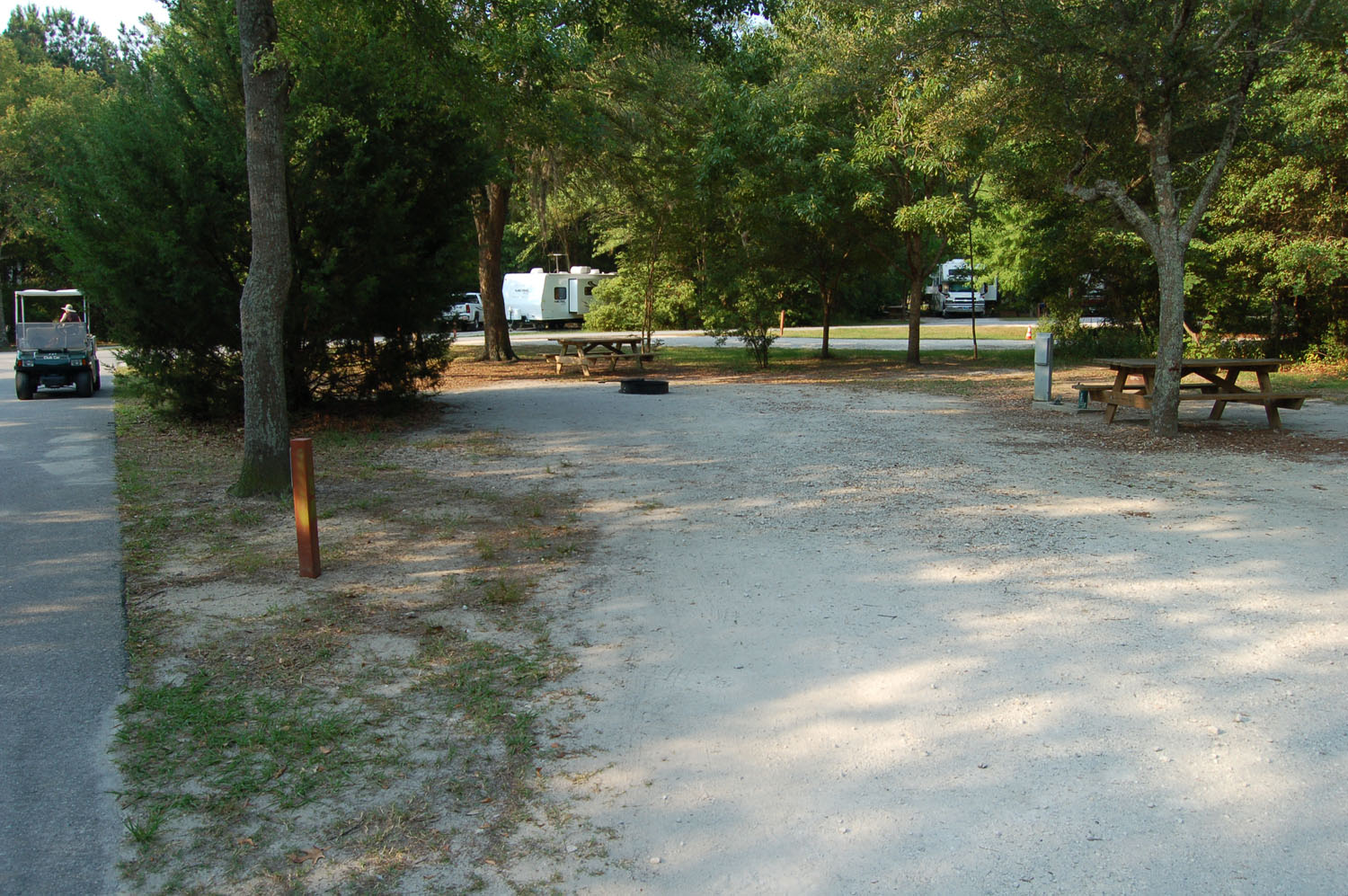 Image of campsite #71 at the Campground at James Island County Park