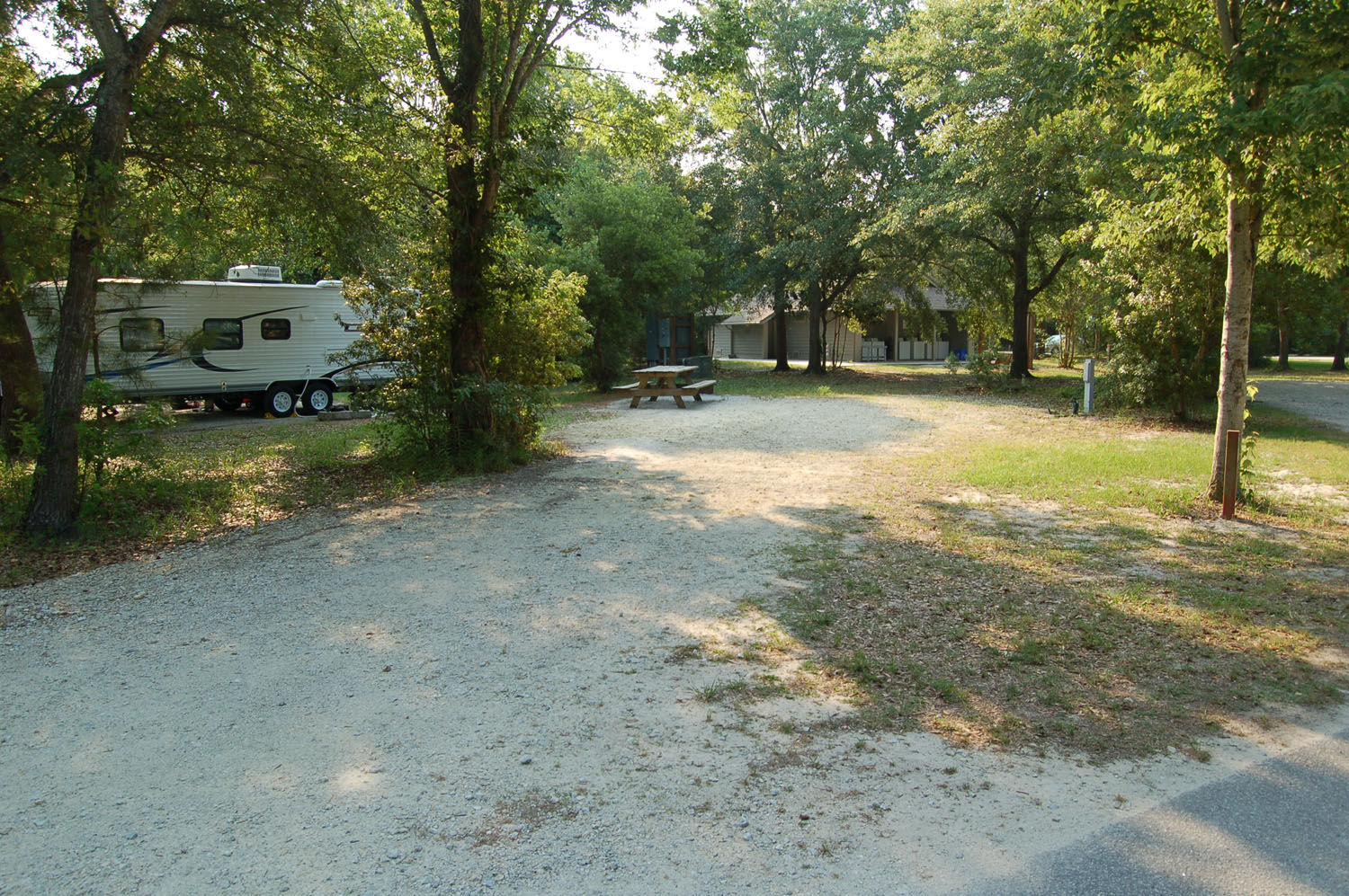 Image of campsite #74 at the Campground at James Island County Park