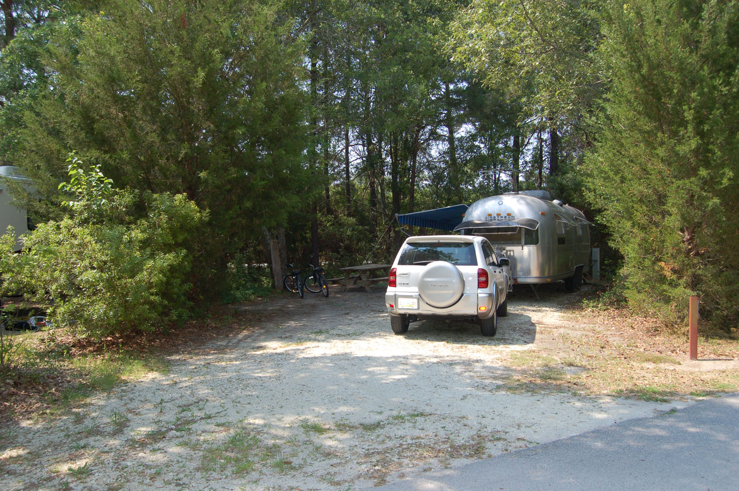 Image of Site #85 at the Campground at James Island County Park