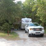 Image of campsite #9 at James Island County Park