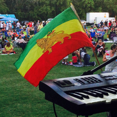 Reggae Nights concert at James Island County Park
