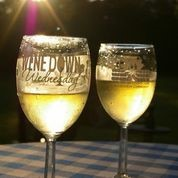 Image of Wine Down Wednesday glasses