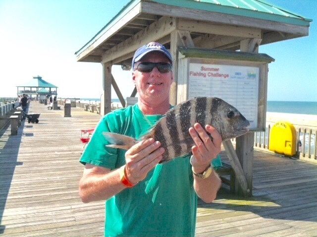 Rich with a 3 lb sheepshead