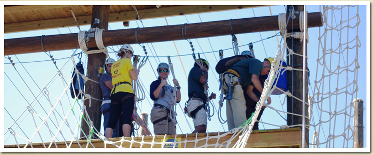 Corporate Programs on The Challenge Course